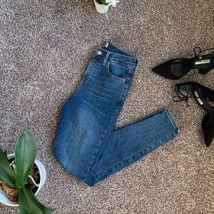 Topshop Jamie Moto Jeans W26 L32
